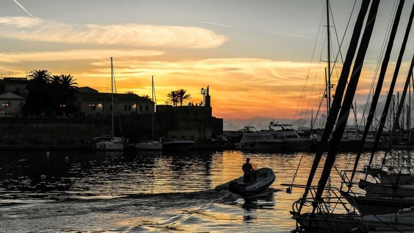 Yachthafen Alghero Sardinien