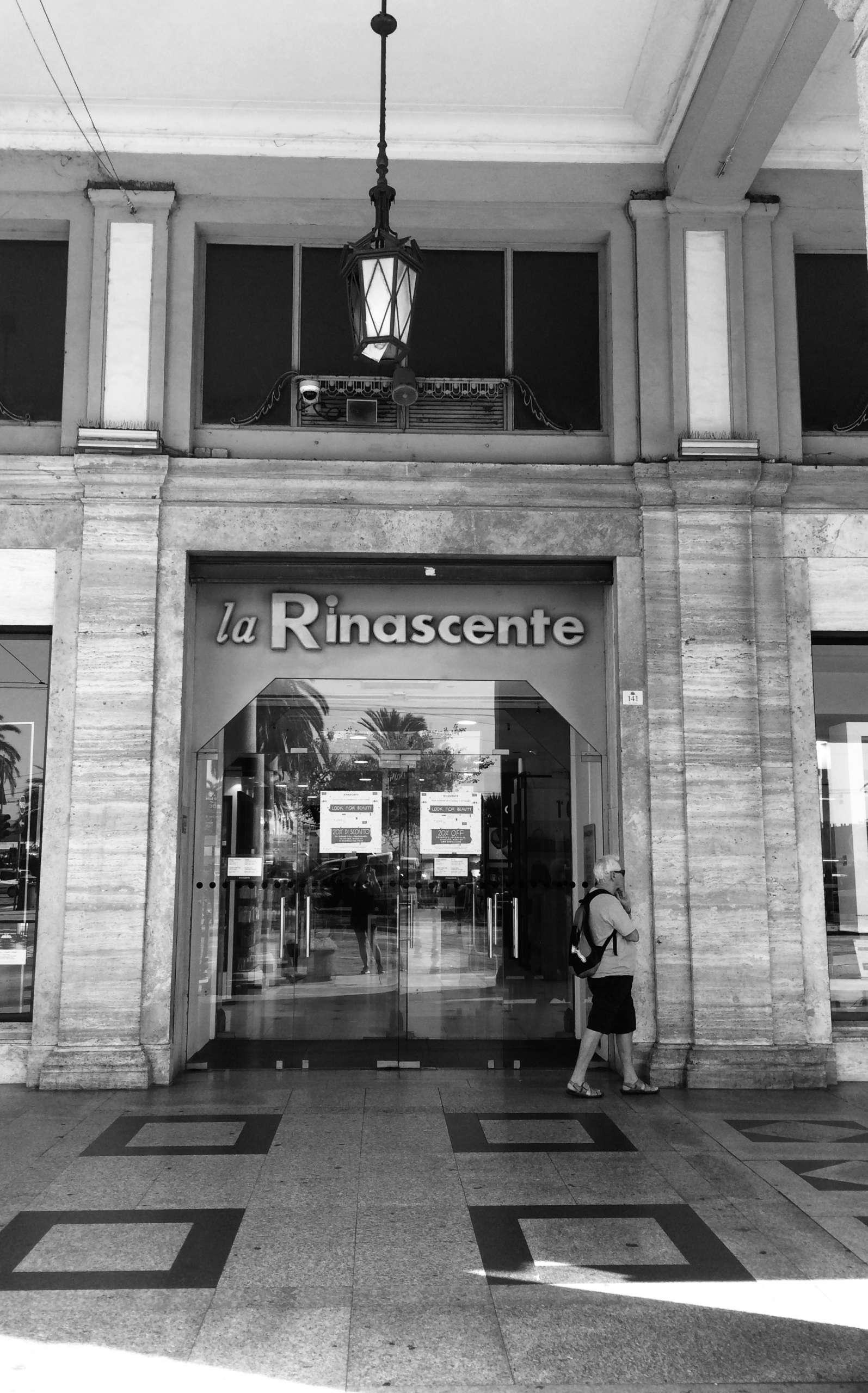 Kaufhaus la Rinascente Cagliari Sardinien