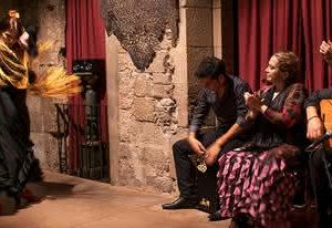 Tänzer Flamenco Show Barcelona