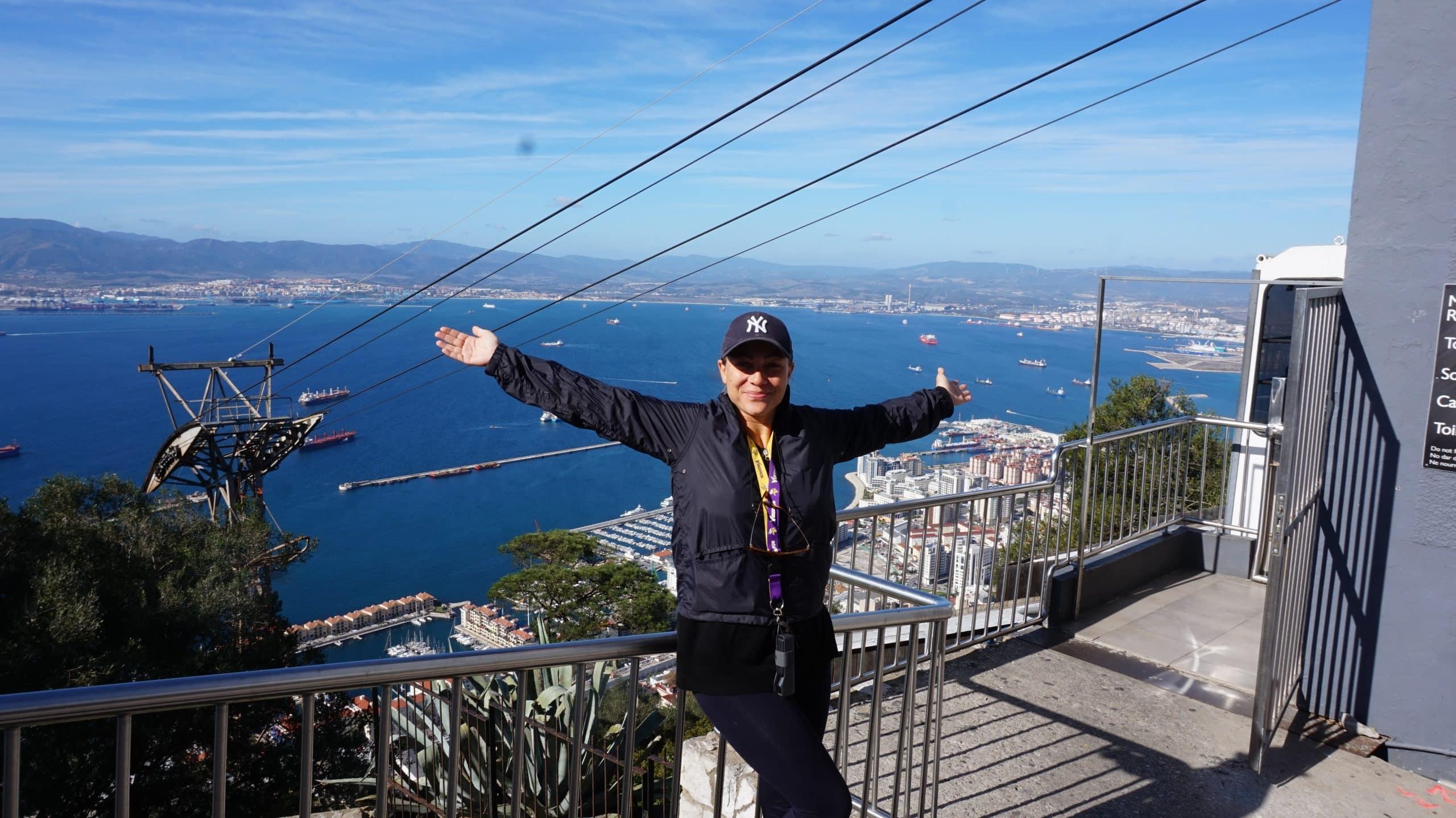 Bergstation Affenfelsen Gibraltar