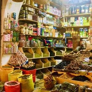 Gewürzmarkt Tanger