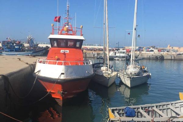 Törnbericht Marokko Hafenliegeplatz Essaouira
