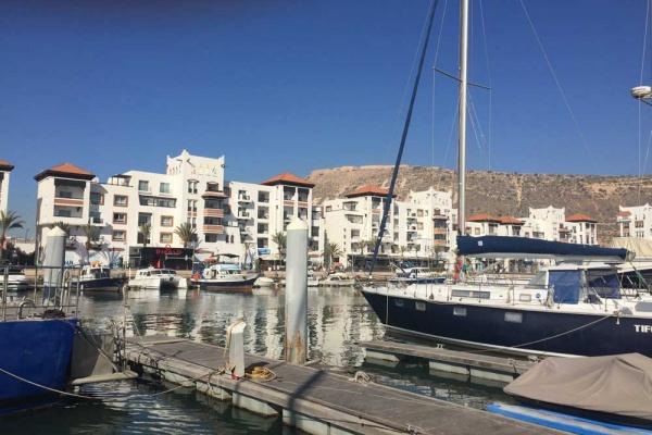 Yachthafen in Agadir