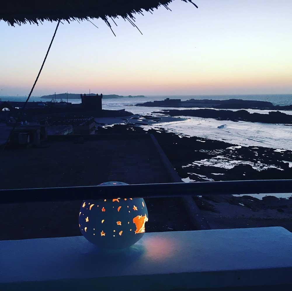 Abenddämmerung in Essouira