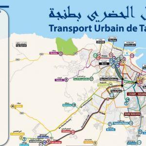 Busplan Tanger