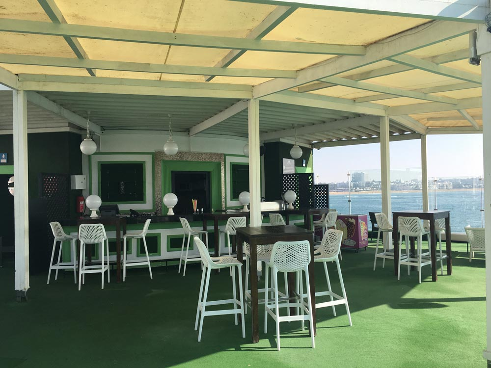 Poolbar Yachthafen Agadir