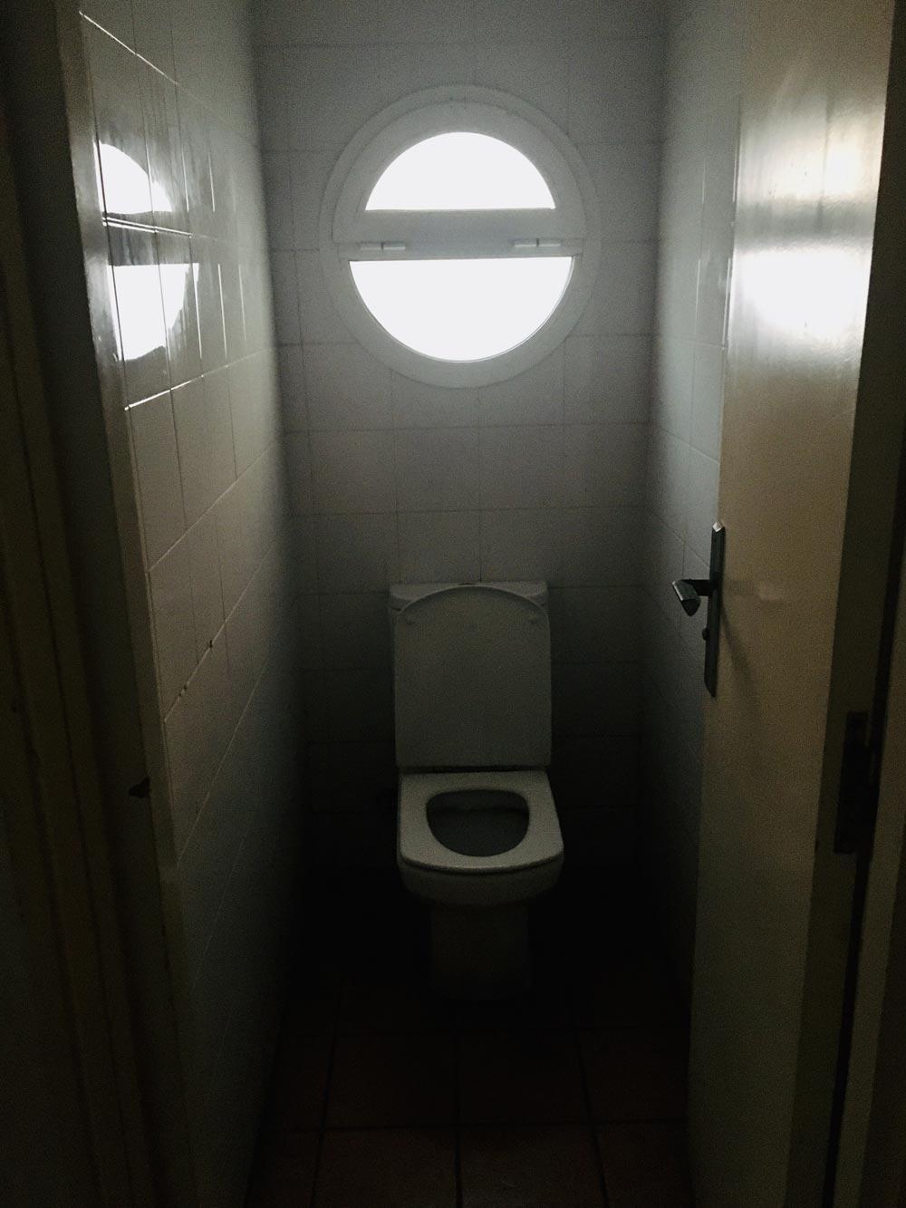 Toilette Yachthafen Agadir