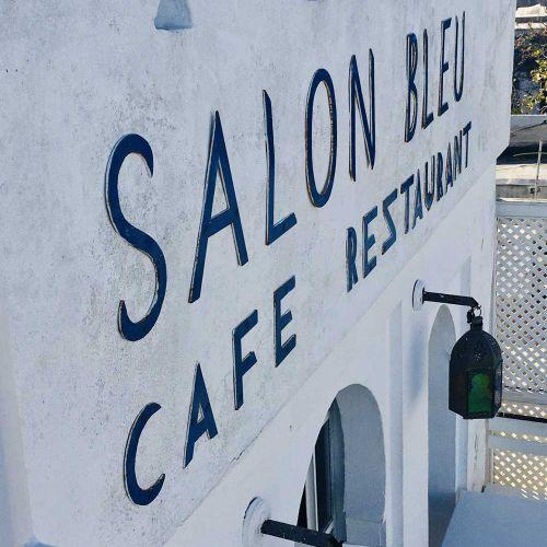Der Eingang zum Salon Bleu