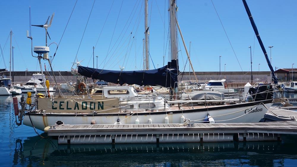 Ein Stahlschiff auf Langfahrt