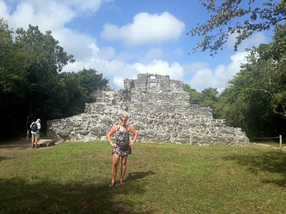 Maya Ruinen Mexiko